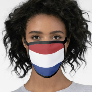 Flag of the Netherlands Face Mask