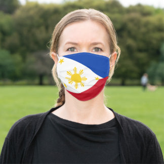 Flag of the Philippines Adult Cloth Face Mask