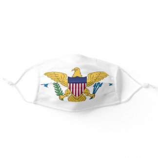 Flag of the United States Virgin Islands Adult Cloth Face Mask