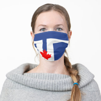 Flag of Toronto, Ontario Adult Cloth Face Mask