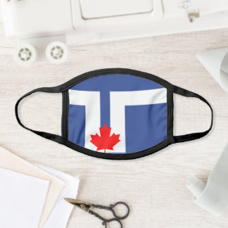 Flag of Toronto, Ontario Face Mask
