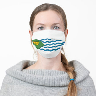 Flag of Vancouver, British Columbia Cloth Face Mask