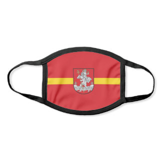 Flag of Vilnius, Lithuania Face Mask