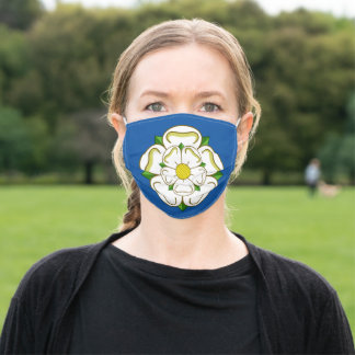 Flag of Yorkshire Adult Cloth Face Mask