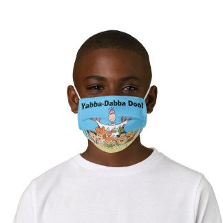 Flintstones Family Roadtrip Kids' Cloth Face Mask
