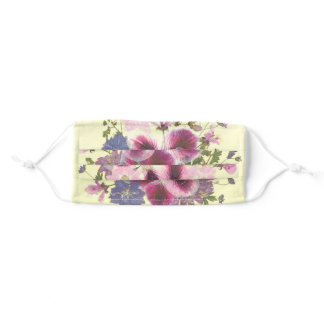 "Floral Face Mask ""Martha Washingtons"""