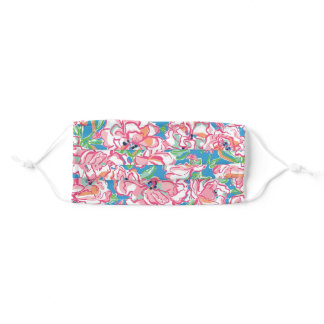 Floral Fun Adult Cloth Face Mask