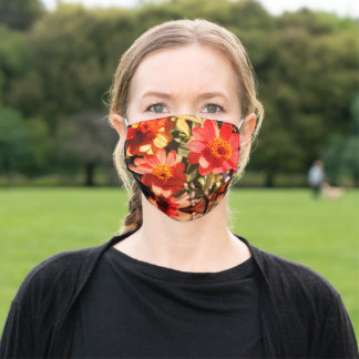 floral reusable mask