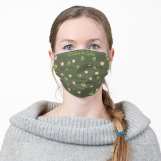Floral Small Mango Blossoms | Stay Healthy Adult Cloth Face Mask