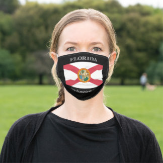 Florida Flag Adult Cloth Face Mask