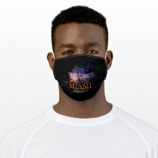 Florida Miami Beach Adult Cloth Face Mask