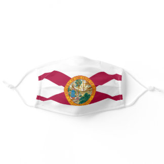 Florida State Flag Adult Cloth Face Mask