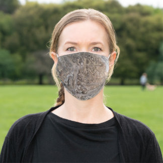 Fluid Brownstone Adult Cloth Face Mask