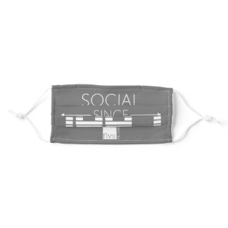 """FLVS Full Time """"Social Distancing"""" Cloth Face Mask"""