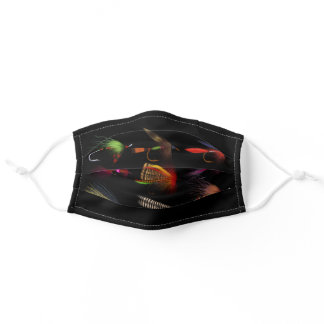 Fly Fishing Lures Adult Cloth Face Mask