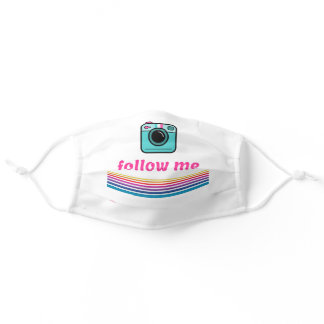 Follow Me Adult Cloth Face Mask