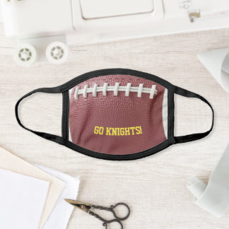 Football Look Personalized Face Mask