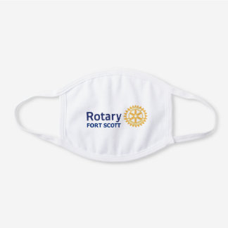 Fort Scott Rotary cotton face mask