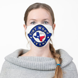 Fort Worth Texas Cloth Face Mask