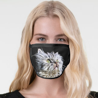 Fractalius Persian cat Face Mask