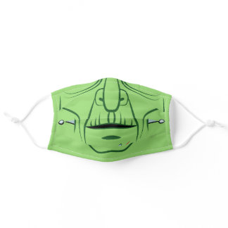 Frankenstein Green Monster Adult Cloth Face Mask