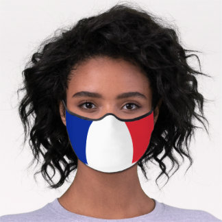 French Flag & France face mask /patriotic fashion