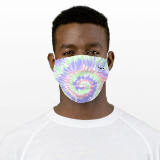Frenchie Tie Dye Face Mask