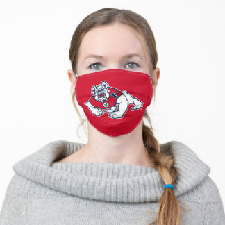 Fresno State Bulldog Adult Cloth Face Mask
