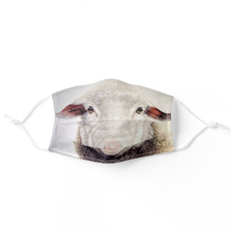 Fun Sheep - Funny Adult Cloth Face Mask