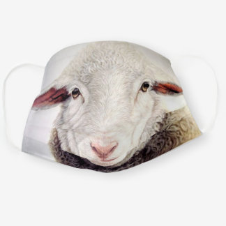 Fun Sheep - Funny Cloth Face Mask