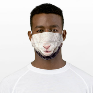 Fun Sheep - Mouth - Funny Cloth Face Mask