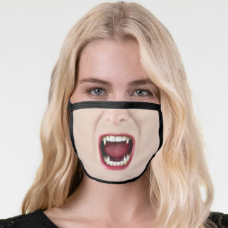 Fun Vampire Fangs Face Mask