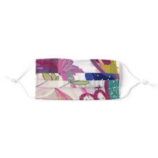 Funky Abstract Adult Cloth Face Mask