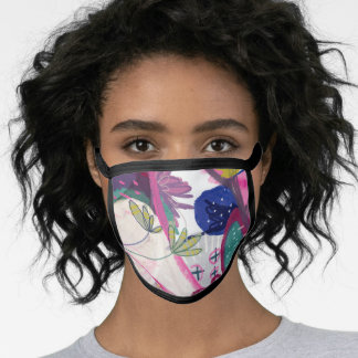 Funky Abstract Face Mask
