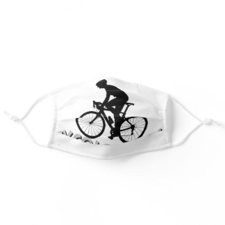 Funny Bicycle Riding Biking Cycling Adult Cloth Face Mask
