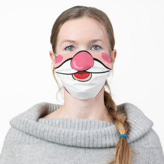 Funny Christmas Santa Claus Beard Adult Cloth Face Mask