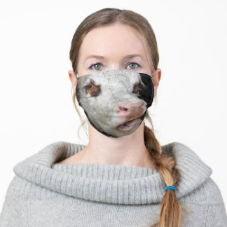 Funny Cow Adult Cloth Face Mask