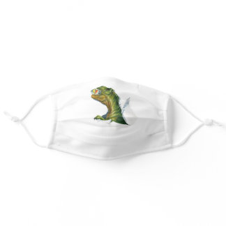 Funny Dinosaur T-Rex Ripping Adult Cloth Face Mask