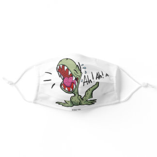 Funny Green T-Rex Dinosaur Adult Cloth Face Mask
