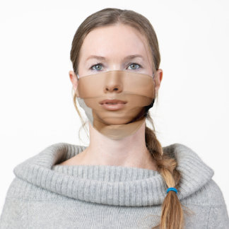 funny humour beautiful woman hot lips adult cloth face mask