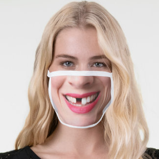 Funny Missing Tooth Face Mask