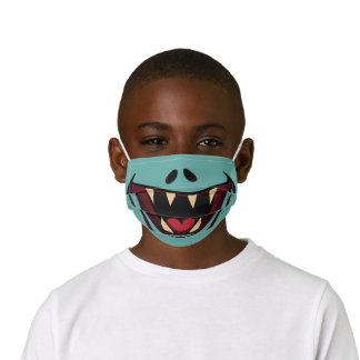 Funny Monster Kids' Cloth Face Mask