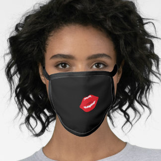 Funny Red Kiss Kissing Lips Lipgloss Lipstick Face Mask