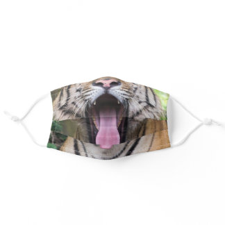 Funny Tiger Adult Cloth Face Mask