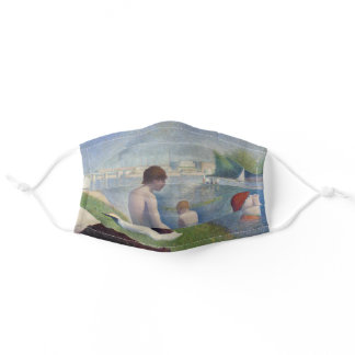 Georges Seurat - Bathers at Asnieres Adult Cloth Face Mask