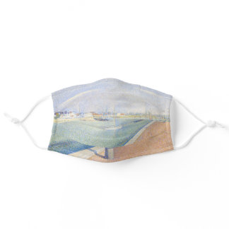 Georges Seurat - The Channel of Gravelines Adult Cloth Face Mask