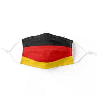 German flag mask, Germany flag Adult Cloth Face Mask