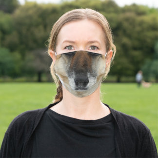 German Shepherd Adult Cloth Face Mask
