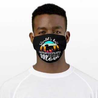 German Shorthaired Pointer Mom Adult Cloth Face Mask
