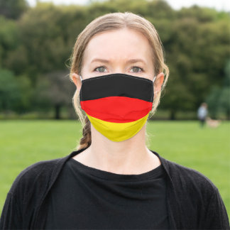 Germany flag adult cloth face mask